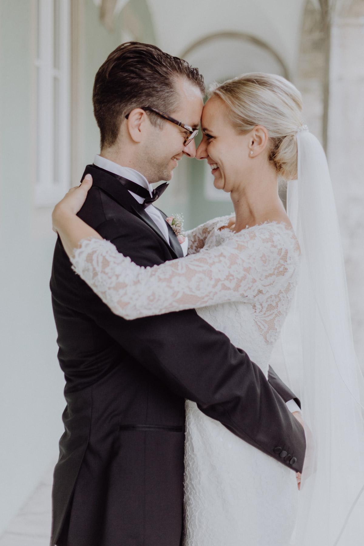 Professionelles Hochzeitsportrait
