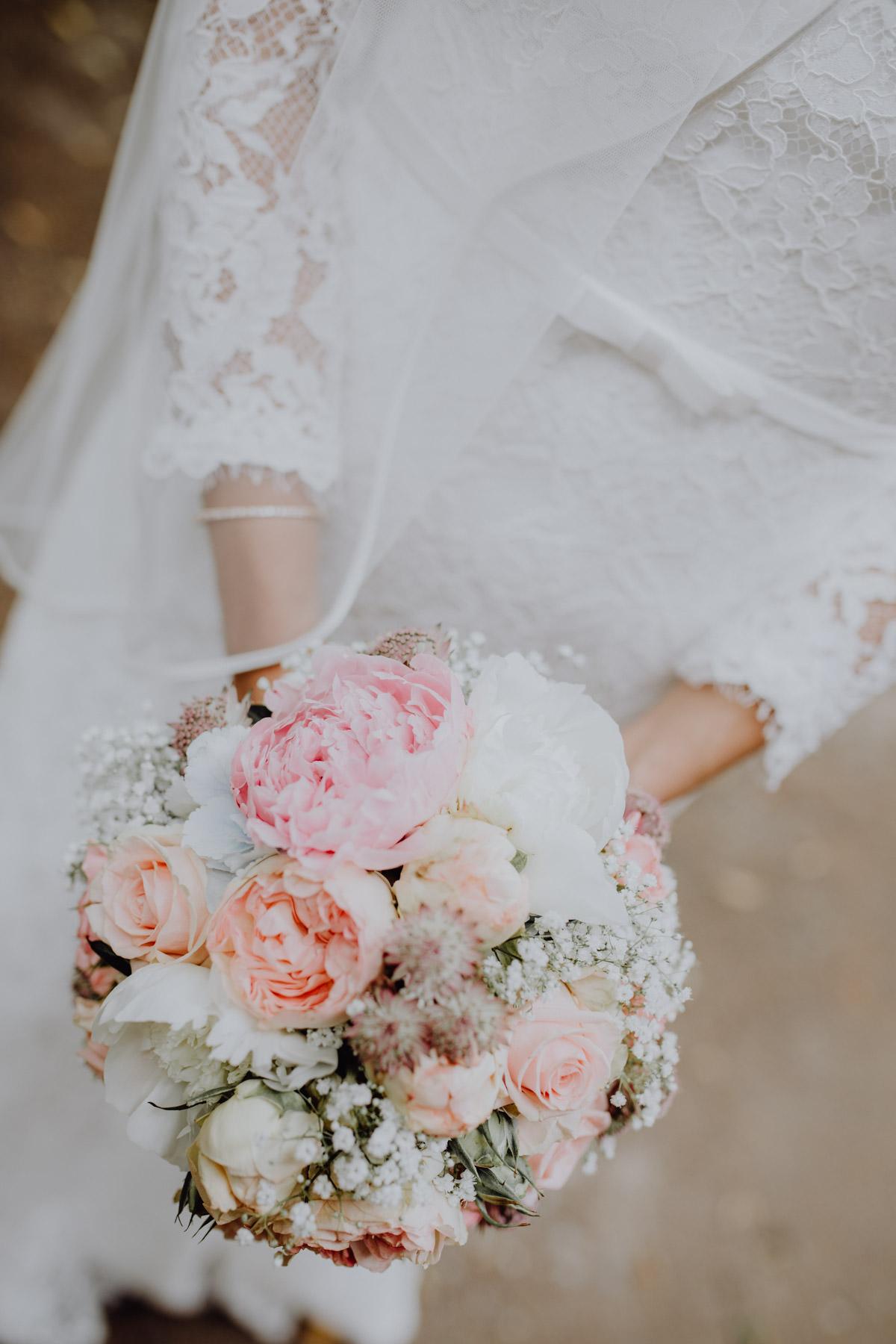 Detailaufnahme Hochzeitsstrauss
