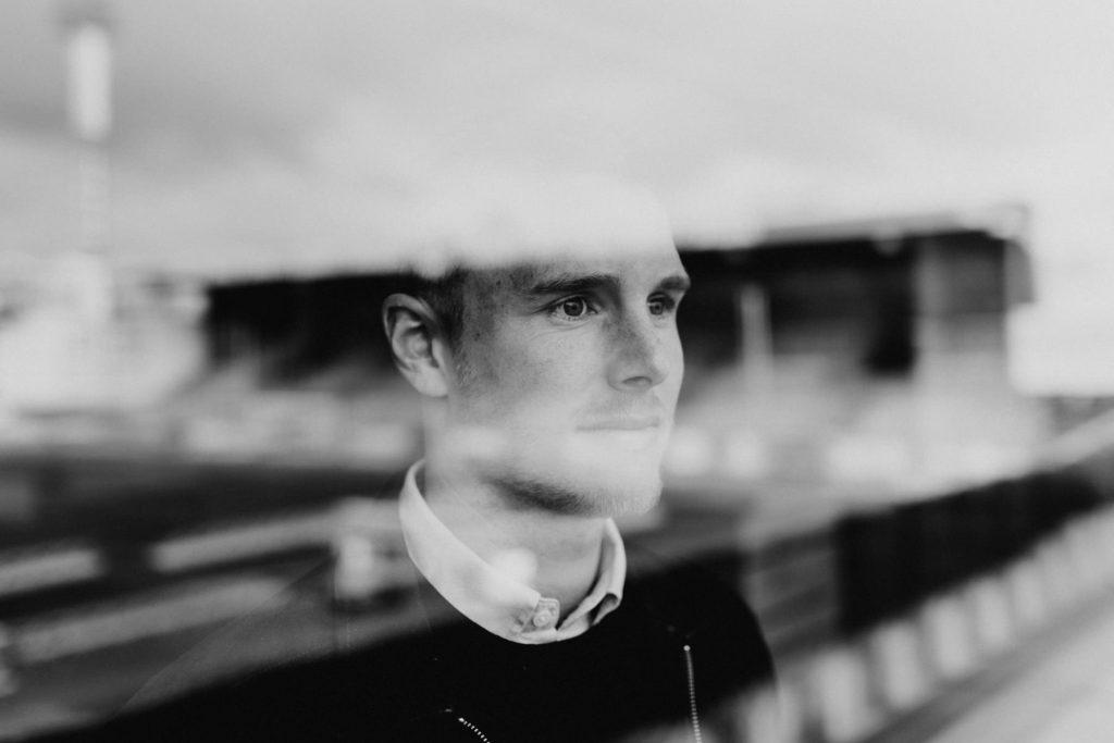 Professionelle Portraitfotografie von einem Mann