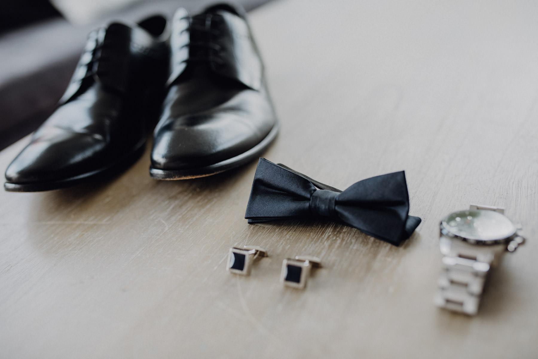 Detailaufnahme einer Hochzeitsreportage
