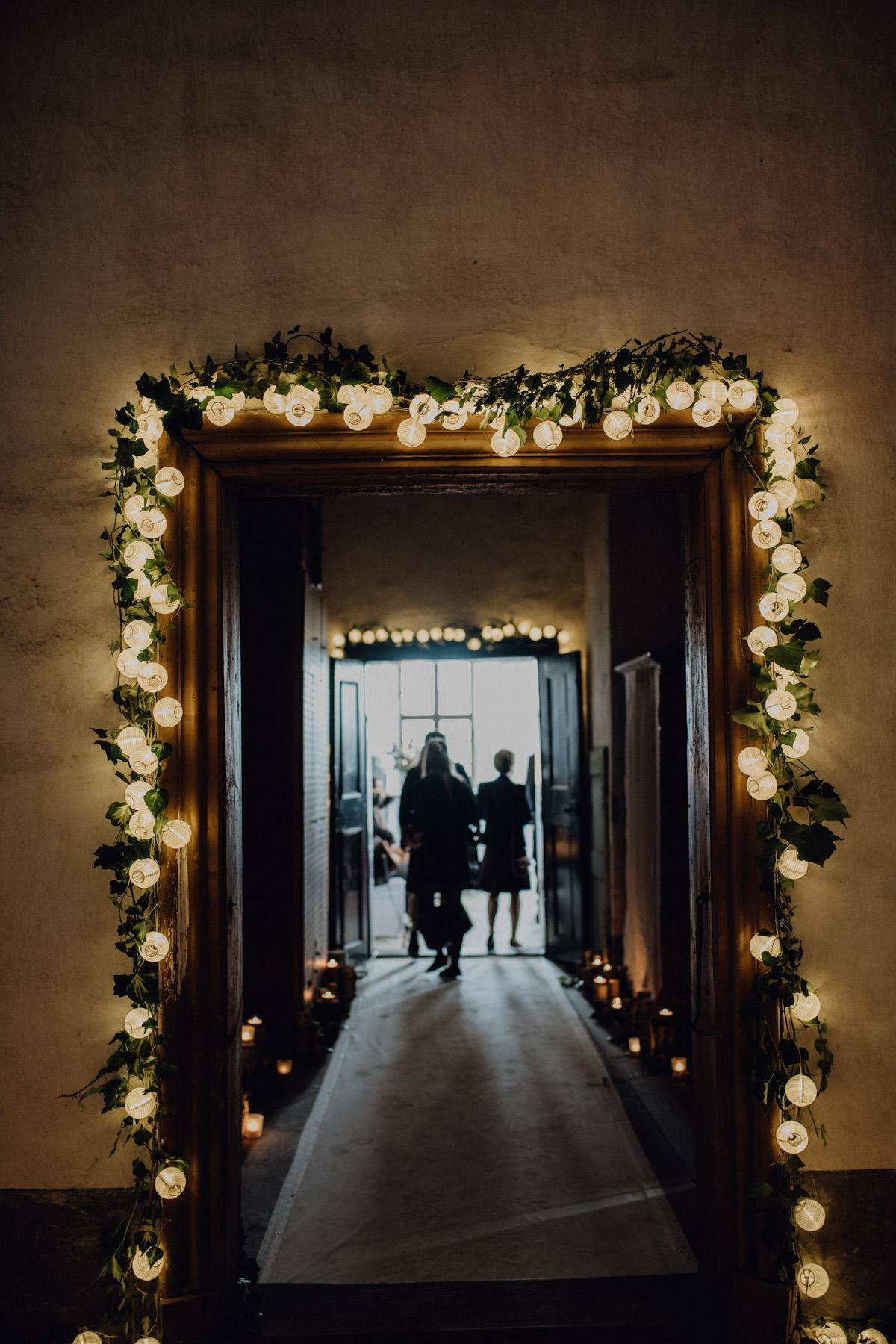 Hochzeitslocation rustikaler, romantischer Look