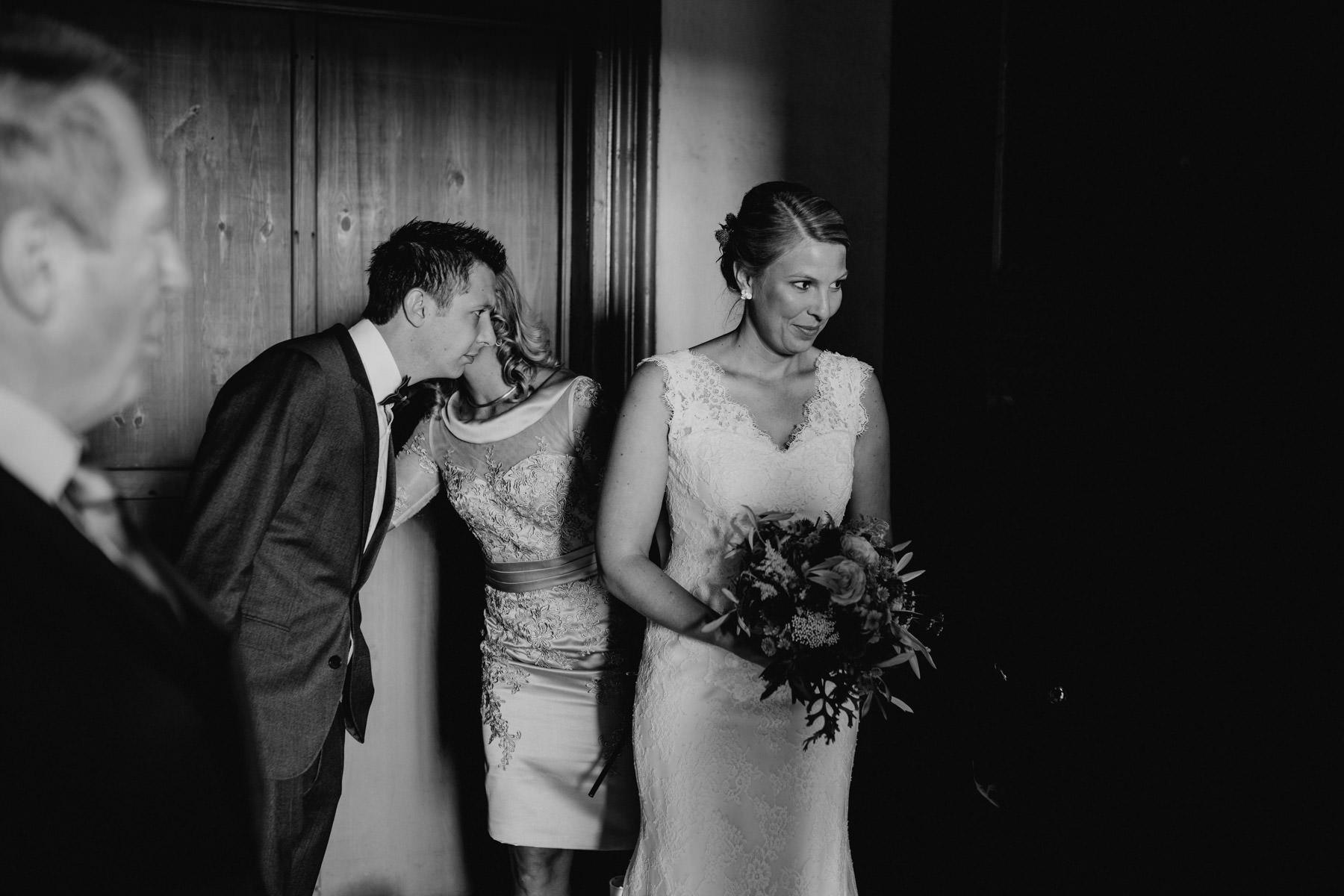 Profesionelle Aufnahme einer Hochzeitsfeier