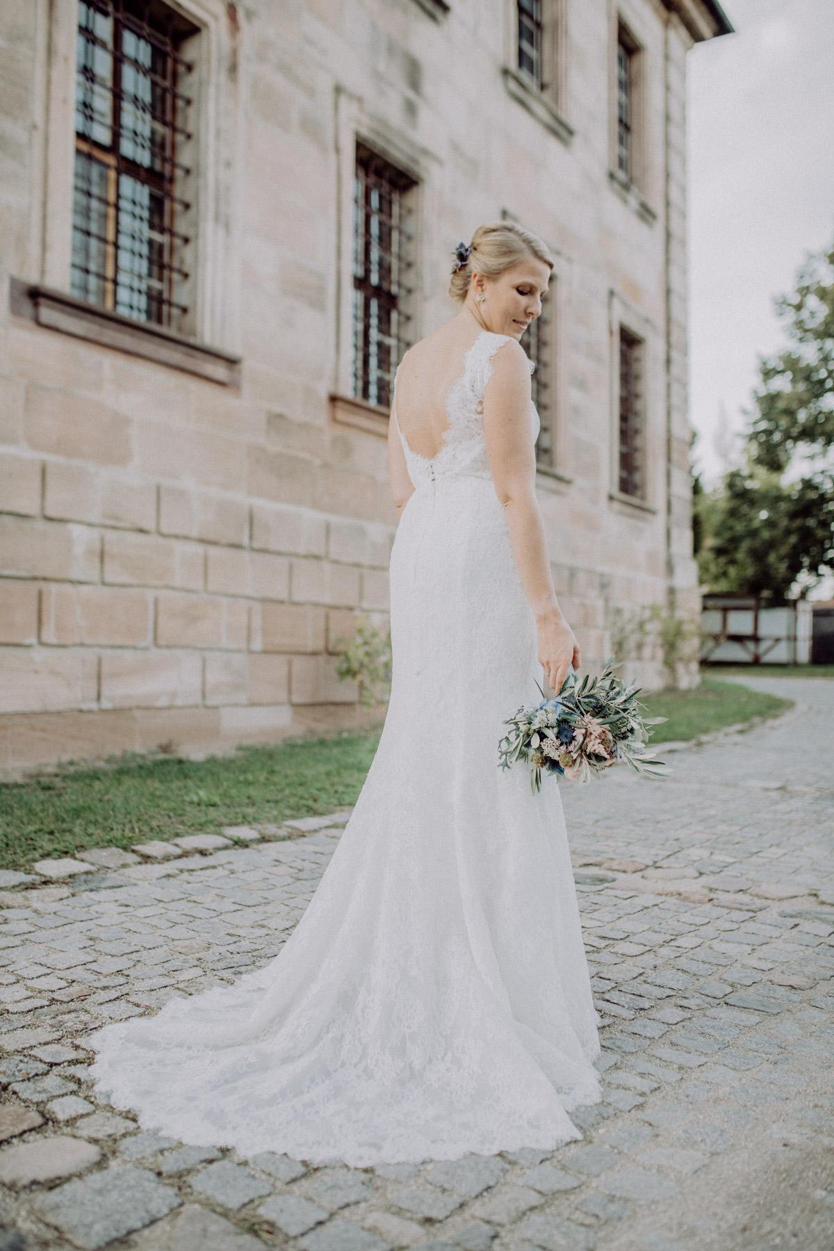 Profesionelle Aufnahme einer Hochzeit