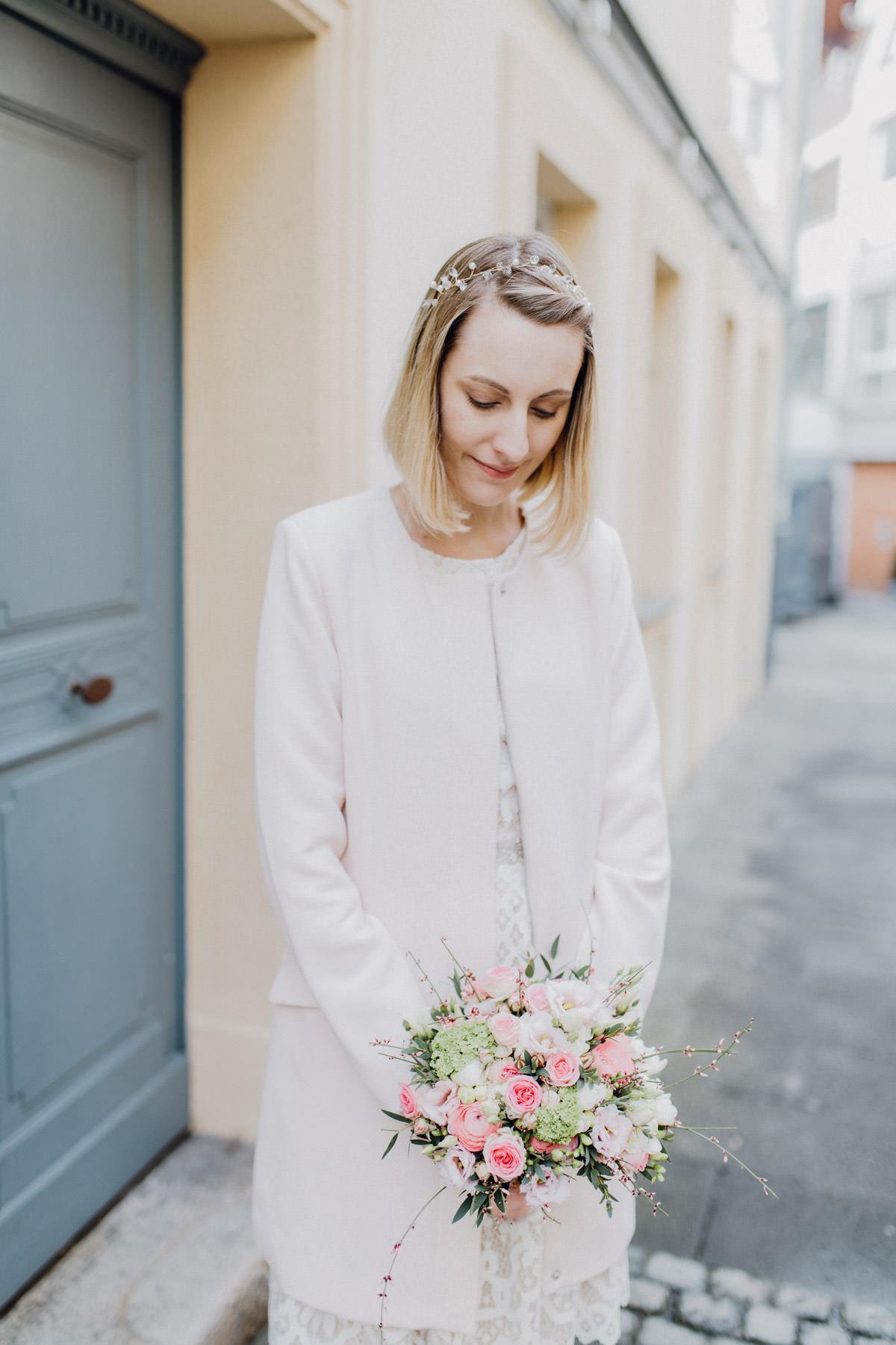 Profesionnelle Fotografie einer Braut