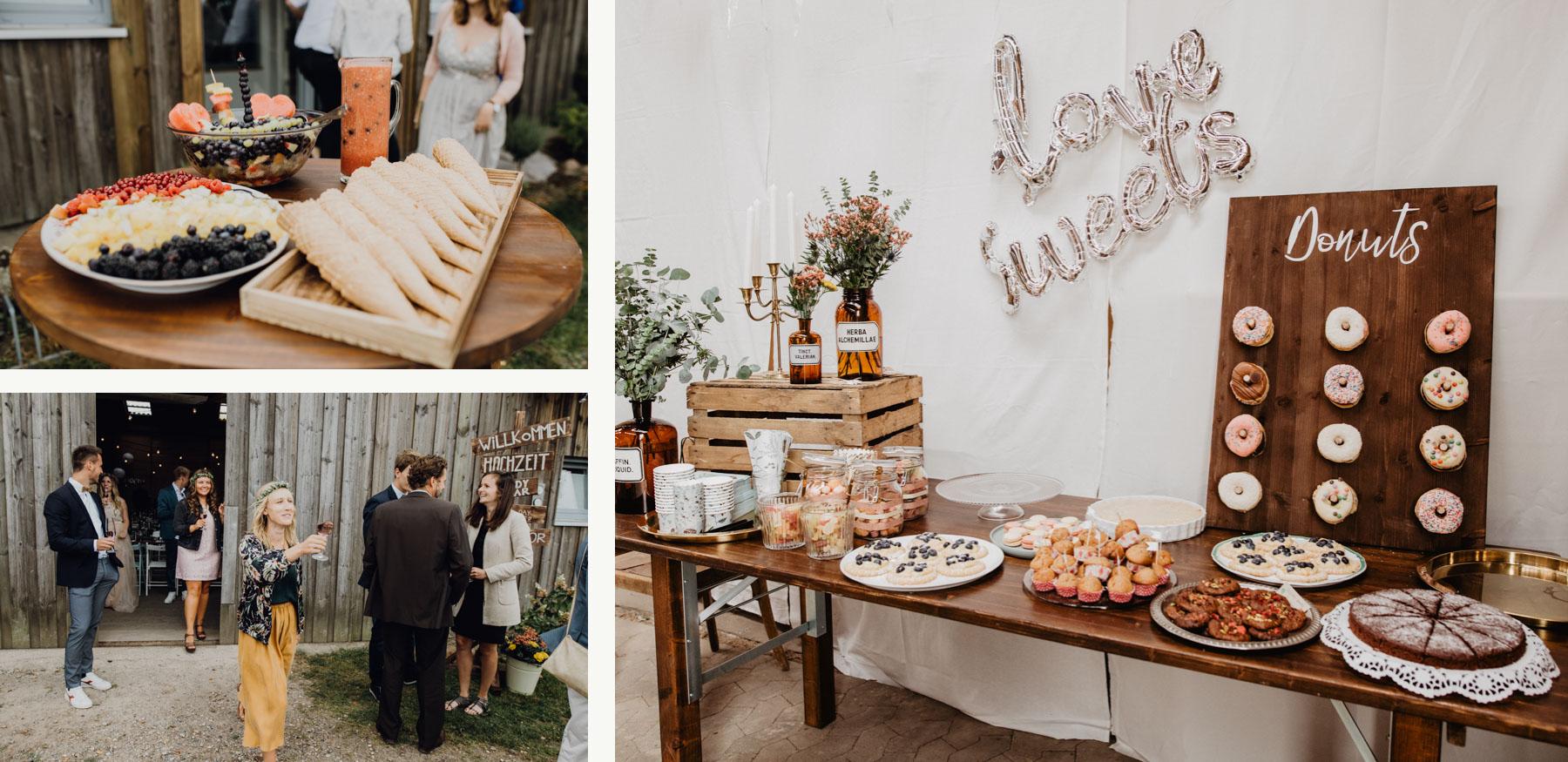 Vintage Hochzeit Boho ProjektStil